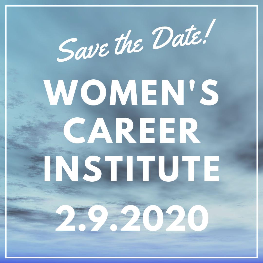 Women's Career Institute flyer