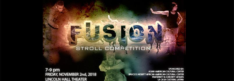 Flyer advertising Fusion Stroll Competition