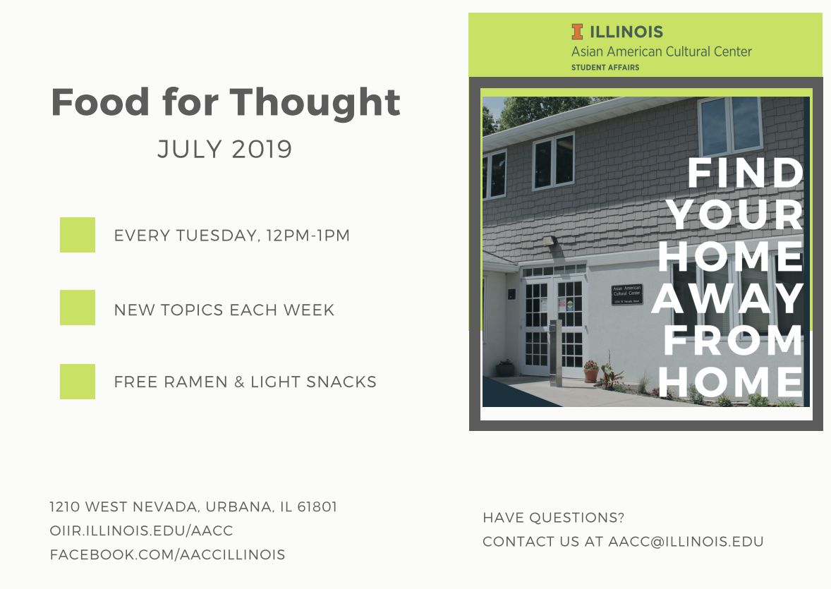 Summer Food for Thought Invite flyer