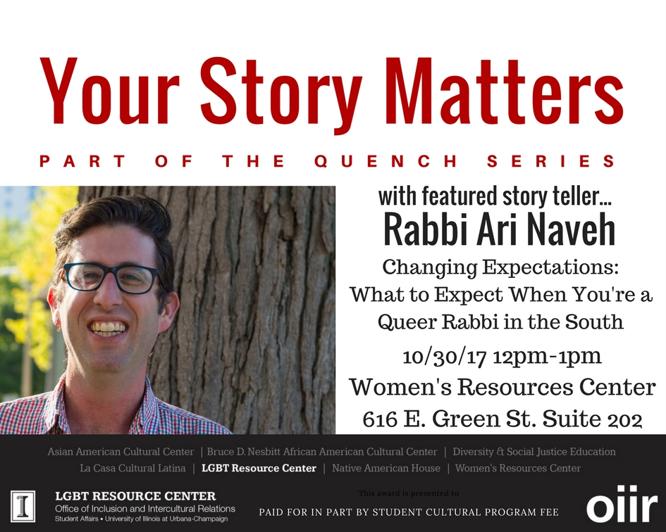 Your Story Matters Flyer