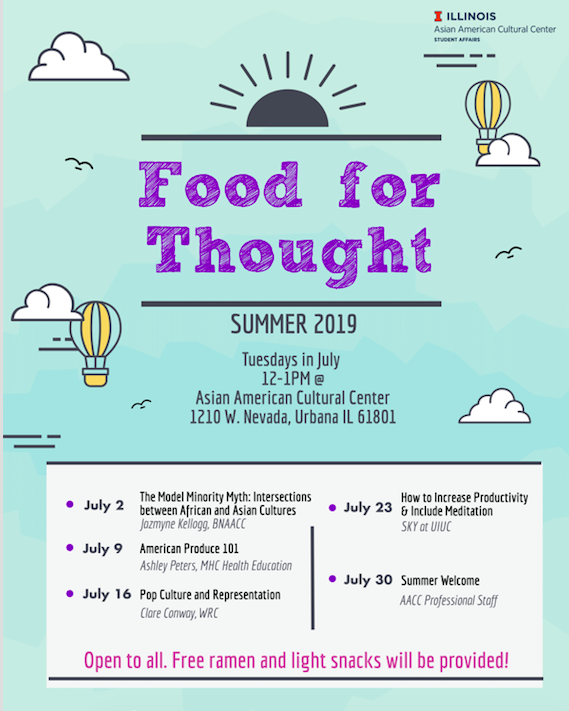 Summer 2019 - Food for Thought
