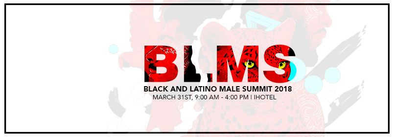 Black and Latino Male Summit 2018 Web Banner