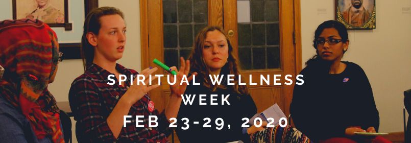 Spiritual Wellness Week February 23-29, 2020
