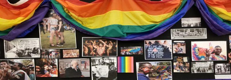 LGBTRC banner- collage of numerous photographs