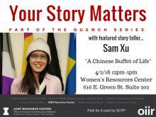 Your Story Matters Sam Xu
