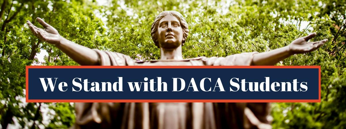 We Stand With DACA Students large slider image